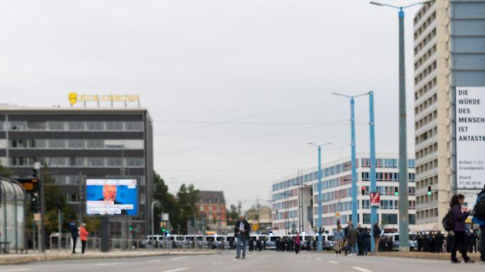 Die Chemnitzer Bahnhofstraße soll Schauplatz der Pöbeleien gegen Migranten am 26. August gewesen sein.