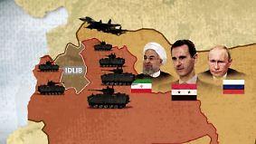 Katastrophe mit Ansage: Darum geht es bei der Schlacht um Idlib