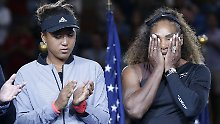 Williams-Ausraster bei US Open: Osakas Tennis-Wunder endet in Tränen