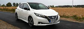 Der Nissan Leaf ist zu einem ausgewachsenen Kompaktwagen geworden. Jedenfalls was die Maße betrifft.
