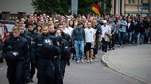 Hunderte Polizeikräfte vor Ort: Köthen bereitet sich auf AfD-Demo vor