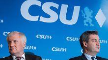 Das seit langem zerrüttete Verhältnis zwischen Seehofer und seiner Partei ist nur indirekt messbar. Ein öffentlich geführter Streit würde die Lage der CSU nur verschlechtern.