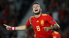 Entfesselte Furia Roja: Spanien zerlegt den WM-Zweiten Kroatien