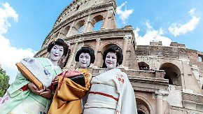 Unterhaltungskunst in Perfektion: Australierin ist die erste westliche Geisha