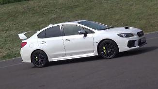 Japaner mit Sportherz: Subaru nimmt Abschied vom Driftkönig WRX STI