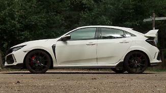 Spoiler, so weit das Auge reicht: Honda Civic Type R zeigt der Konkurrenz die Rücklichter