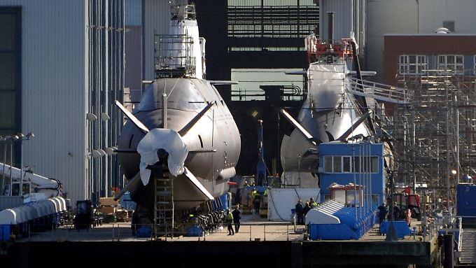 Die Marine-Sparte wird fortan vom Konzernvorstand beaufsichtigt.