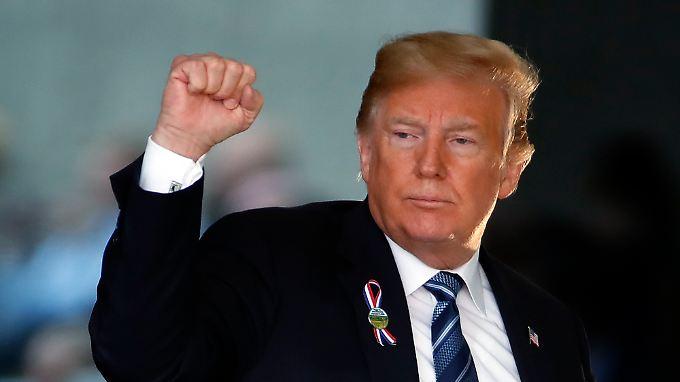 Donald Trump zeigt sich weiterhin kämpferisch.