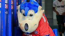 Dino Hermann hat sich einen Nasenstüber eingefangen - so wie seine Mannschaft.