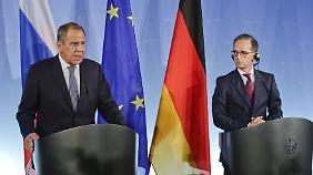 Russlands Außenminister Lawrow wirbt für Besserung der Beziehungen zwischen Russland und der EU.