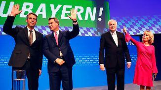 Parteitag im Krisenmodus: CSU ringt um Harmonie und Wählerstimmen
