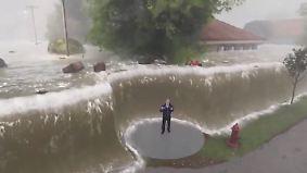 """US-Küstenstadt im Auge des Sturms: Wilmington erwartet """"Fluten von biblischem Ausmaß"""""""