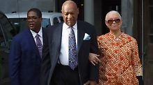 Kurz vor Strafmaßverkündung: Cosby greift zuständigen Richter an