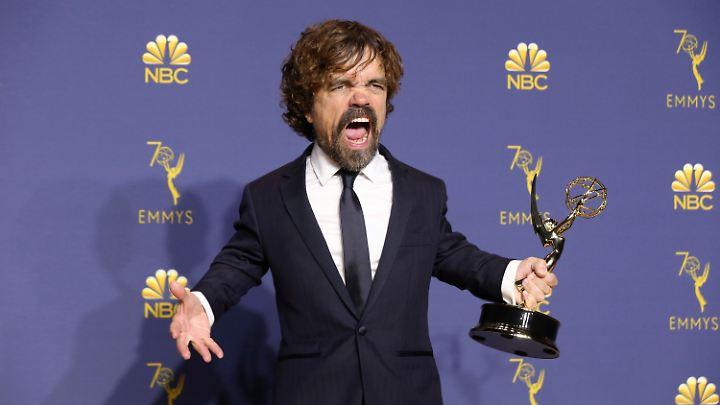 """Peter Dinklage erhielt für seine """"GoT""""-Rolle ebenfalls einen Emmy."""