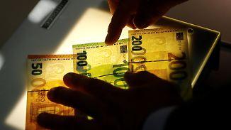 Nur echt mit Smaragdzahl: EZB präsentiert neuen 100- und 200-Euro-Schein