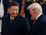 Chinas Staatschef Xi Jinping bleiben kaum noch Waffen im Vergeltungsarsenal gegen Donald Trump.
