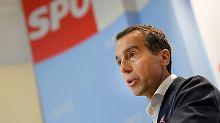 Von Wien nach Brüssel: Kern will Kommissionspräsident werden