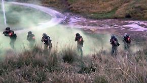Terrorübung auf dem Dach der Welt: China drillt Elitepolizei mit martialischem Training