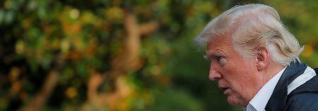"""Haushaltsplan ist """"lächerlich"""": Trump vermisst Geld für Mauerbau"""
