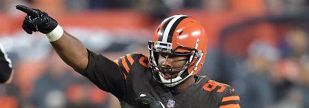 """""""Ok, bleibt ruhig"""": Cleveland Browns siegen nach 635 Tagen"""