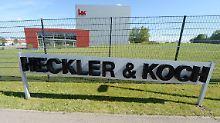 Schelte von Pazifisten: Aktionäre löchern Heckler & Koch