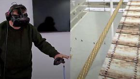 Grauen auf Knopfdruck: Virtual Reality therapiert Höhenangst und Spinnenphobie