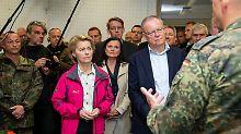 """Löschoffensive im Moor: Von der Leyen hat """"Scharte auszuwetzen"""""""
