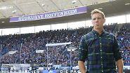"""""""Mein kleines Stoßgebet an den Fußball-Gott: Mal wieder über Sinsheim abbiegen!"""" (Hoffenheims Trainer Julian Nagelsmann angesichts der erneut vielen vergebenen Chancen seines Teams gegen Dortmund)"""