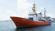 "Panama will Flagge entziehen: Rettungsschiff ""Aquarius"" droht neuer Ärger"
