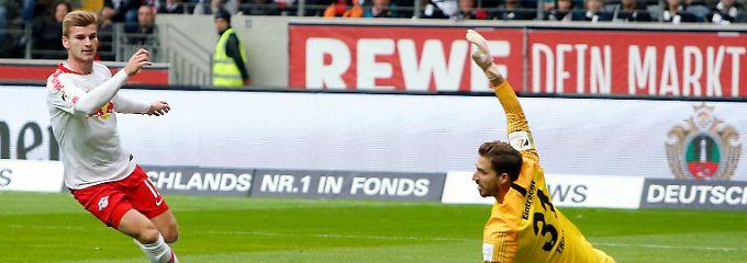 Fußballfrust gegen Frankfurt: RB Leipzig patzt auch bei der Eintracht