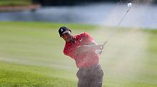 Mit zwei Schlägen Vorsprung setzte sich Tiger Woods auf der PGA Tour gegen Billy Horschel durch.