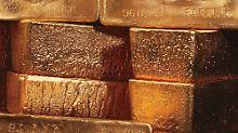 Der Goldpreis ist in diesem Jahr um zehn Prozent gesunken.