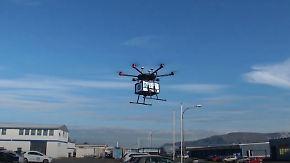 Nur mit schriftlicher Erlaubnis der Nachbarn: In Reykjavik wird das Essen mit der Drohne geliefert