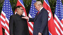 Vermutlich noch in diesem Jahr: USA streben zweiten Gipfel mit Kim an