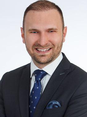 """Dimitri Schulz ist Gründungsmitglied der Initiative """"Juden in der AfD""""."""