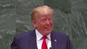 Eigenlob vor UN-Vollversammlung: Trump erntet höhnisches Gelächter