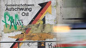 28 Jahre nach der Wiedervereinigung: Im Westen lebt es sich immer noch besser