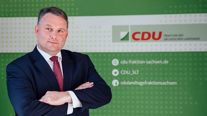 Hartmann wurde am Dienstag gewählt - gegen den Vorschlag von Ministerpräsident Kretschmer.