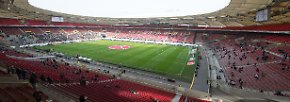 Die Mercedes-Benz-Arena in Stuttgart kann 50.998 Fans empfangen. Einst als Neckarstadion bekannt, war es auch bei den Heim-Turnieren 1974, 1988 und 2006 dabei.