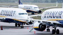 Flugchaos in Europa befürchtet: Verdi schließt sich großem Ryanair-Streik an