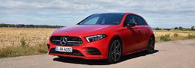 Dezent verändert und dennoch schnittiger als der Vorgänger steht die neue Mercedes A-Klasse da.