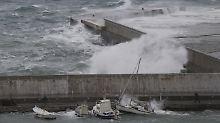 """Hurrikan erreicht Griechenland: """"Medicane"""" legt Schiffsverkehr lahm"""