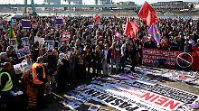 Großeinsatz für Kölner Polizei: Erdogan-Proteste sind kleiner als erwartet