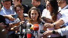 Priorität auf Nafta-Gespräche: Kanadas Außenministerin verlegt UN-Rede