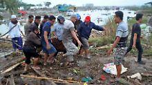 Naturkatastrophe in Indonesien: Zahl der Tsunami-Toten steigt auf über 800