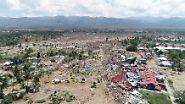 Sechs Meter hohe Welle: Hunderte sterben bei Tsunami auf Sulawesi