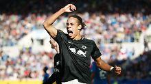 Der Sport-Tag: RB Leipzigs Poulsen erklärt dreisprachigen Kabinenstreit