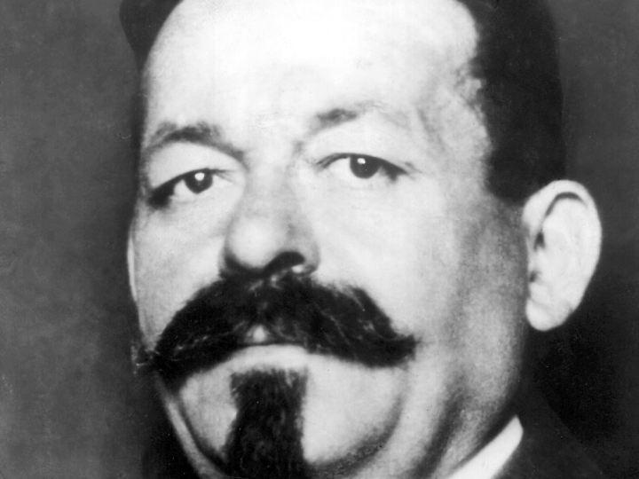 SPD-Chef, Reichskanzler und ab 1919 erster Reichspräsident: Friedrich Ebert.