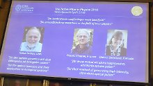 Optische Werkzeuge und Pulse: Physik-Nobelpreis geht an drei Laserforscher