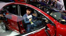 China schlägt zurück: Zollkrieg macht Tesla zu schaffen